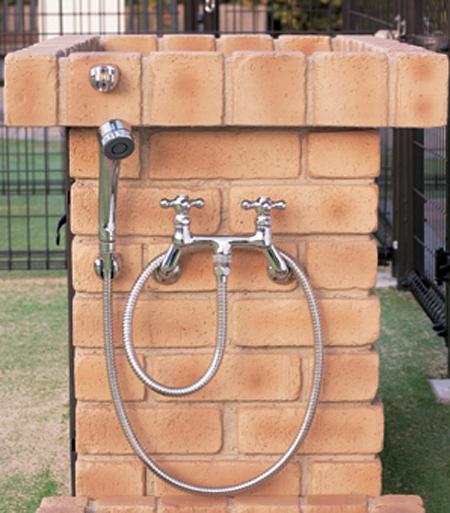 【マラソン ポイント5倍+クーポン発行中】 蛇口 水栓金具 シャワープレイス用水栓金具 カランパイプ無し PF-S9-M ニッコー