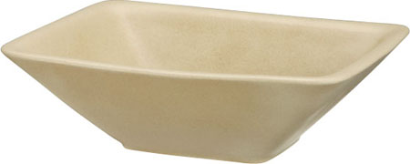 【主張すぎないシンプルさの中にも高級感が漂う陶芸ポット】 陶芸 ポット(水受け) カレ シャンパンベージュ ユニソン 水鉢