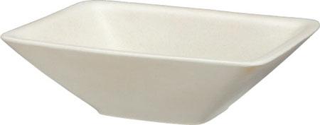 【主張すぎないシンプルさの中にも高級感が漂う陶芸ポット】 陶芸 ポット(水受け) カレ カシミアホワイト ユニソン 水鉢