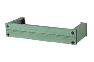 フラワーボックス ウインポッシュ 3尺用(W986)FE51362 木目調ダニッシュグリーン