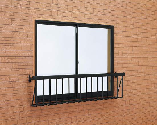 安全対策 窓手すり1型 3Tタイプ(引違窓用:出幅236)金具付 W1898・H500 3T-1805-N YKK AP