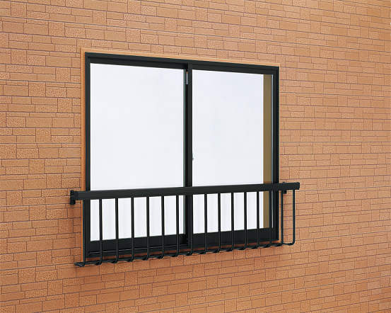 安全対策 窓手すり1型 Tタイプ(引違窓用:出幅156)金具付 W1898・H500 T-1805-N YKK AP