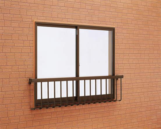 窓手すり1型 Tタイプ(引違窓用:出幅156)金具付 W1898・H750 T-1807-N YKK AP
