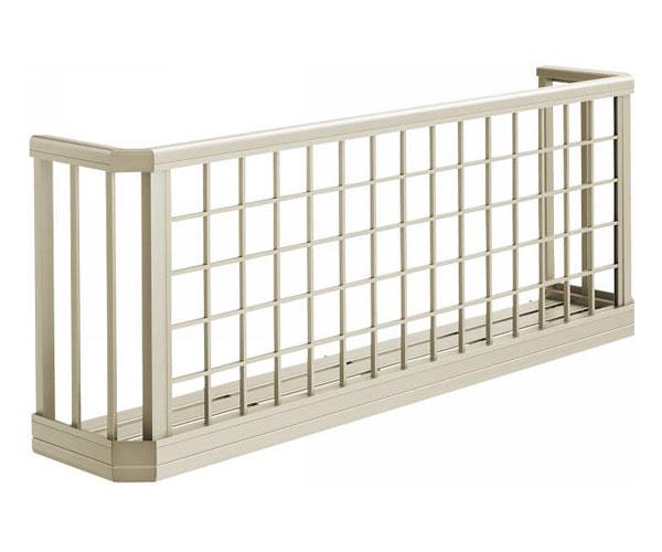 花台 安全対策 窓手すり 3WT 金具付 井桁格子 W2767・H750 3WT-25607-03 YKK AP