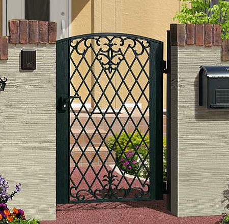 門扉 片開き 門柱タイプ 鋳物 キャスモア1型 0812 アイアン 三協立山