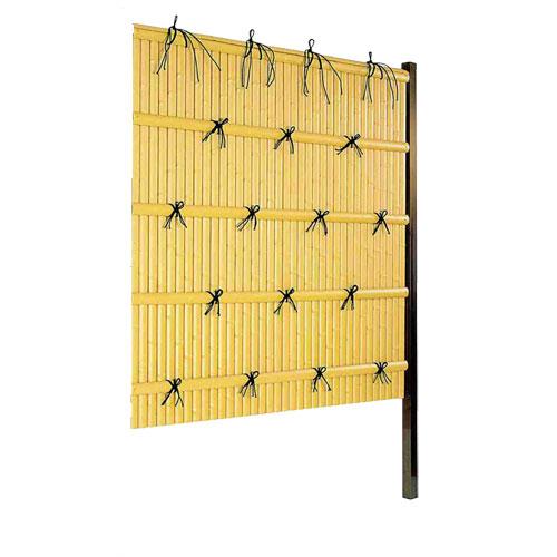 竹垣人工 建仁寺垣A型 組立部材セット 連結用 H1800 片面仕様 目隠し フェンス