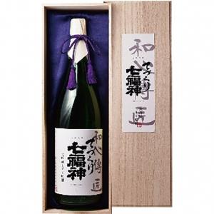 【送料無料】【ギフト品】【代引不可】菊の司酒造 てづくり七福神 大吟醸 和心伝匠 1800ml