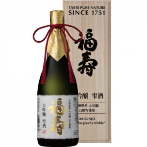 【送料無料】【ギフト品】【代引不可】神戸酒心館 福寿 大吟醸 雫酒 720ml