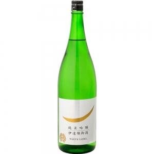 【5,000円以上送料無料】【ケース品】勝山 純米吟醸 WHITE LABEL 1800ml 6本入り
