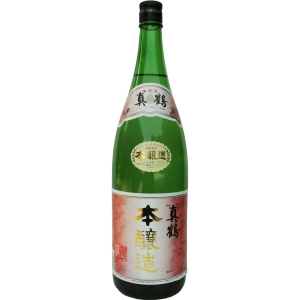 【5,000円以上送料無料】【ケース品】真鶴 本醸造 1800ml 6本入り