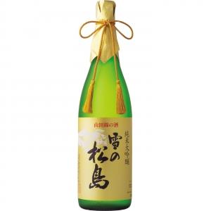 【送料無料】【ギフト品】【代引不可】大和蔵酒造 雪の松島 純米大吟醸 1800ml