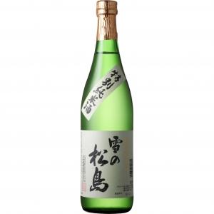 【5,000円以上送料無料】【ケース品】雪の松島 特別純米酒 720ml 12本入り