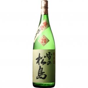 【5,000円以上送料無料】【ケース品】雪の松島 醸魂 純米酒 +20 1800ml 6本入り