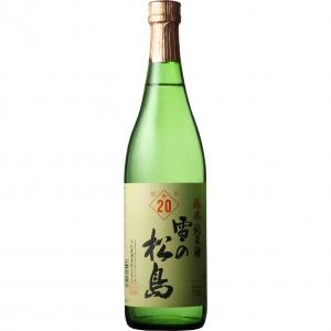 【5,000円以上送料無料】【ケース品】雪の松島 醸魂 純米酒 +20 720ml 12本入り
