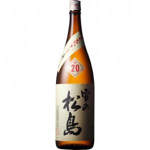 【5,000円以上送料無料】【ケース品】雪の松島 本醸造 入魂超辛+20 1800ml 6本入り