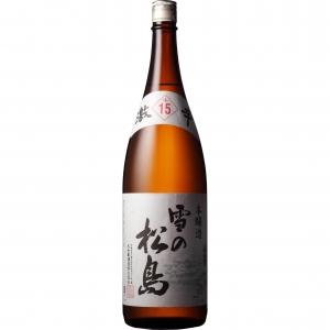【5,000円以上送料無料】【ケース品】雪の松島 本醸造 激辛+15 1800ml 6本入り
