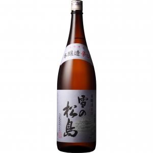 【5,000円以上送料無料】【ケース品】雪の松島 本醸造 辛口 1800ml 6本入り