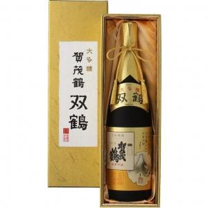 【送料無料】【ギフト品】【代引不可】賀茂鶴酒造 大吟醸 双鶴 1800ml