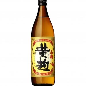 【5,000円以上送料無料】【ケース品】小鶴 黄麹 芋 25度 900ml 12本入り