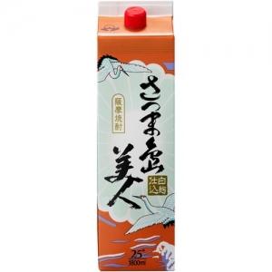 【5,000円以上送料無料】【ケース品】長島研醸 さつま島美人 25度 1800ml 6本入り
