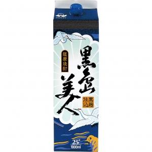 【5,000円以上送料無料】【ケース品】長島研醸 黒島美人 25度 1800ml 6本入り