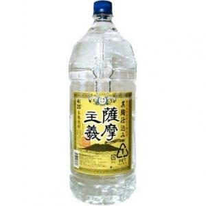 【5,000円以上送料無料】【ケース品】若松酒造 薩摩主義 4000ml 4本入り