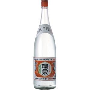 【5,000円以上送料無料】【ケース品】瑞泉酒造 瑞泉 赤ラベル 25度 1800ml 6本入り