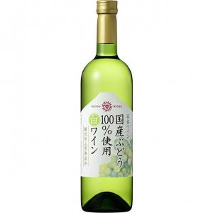 【5,000円以上送料無料】【ケース品】マンズワイン 国産ぶどう100%使用白ワイン 酸化防止剤無添加 12本入り