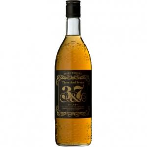 【5,000円以上送料無料】【ケース品】本坊酒造 マルス ウイスキー 3&7 720ml 40度 12本入り