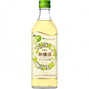 【5,000円以上送料無料】【ケース品】キリン 林檎酒 500ml 14度 12本入り