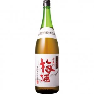 【5,000円以上送料無料】本格焼酎仕込み 小正の梅酒 1800ml 14度