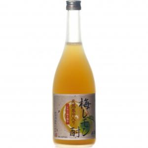 【5,000円以上送料無料】天然果汁入り 梅レモン酎 720ml 7度