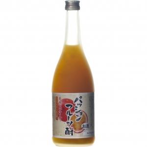 【5,000円以上送料無料】【ケース品】天然果汁入り パッションフルーツ酎 720ml 7度 12本入り