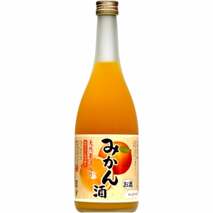 【5,000円以上送料無料】【ケース品】天然果汁入り みかん酒 720ml 7度 12本入り