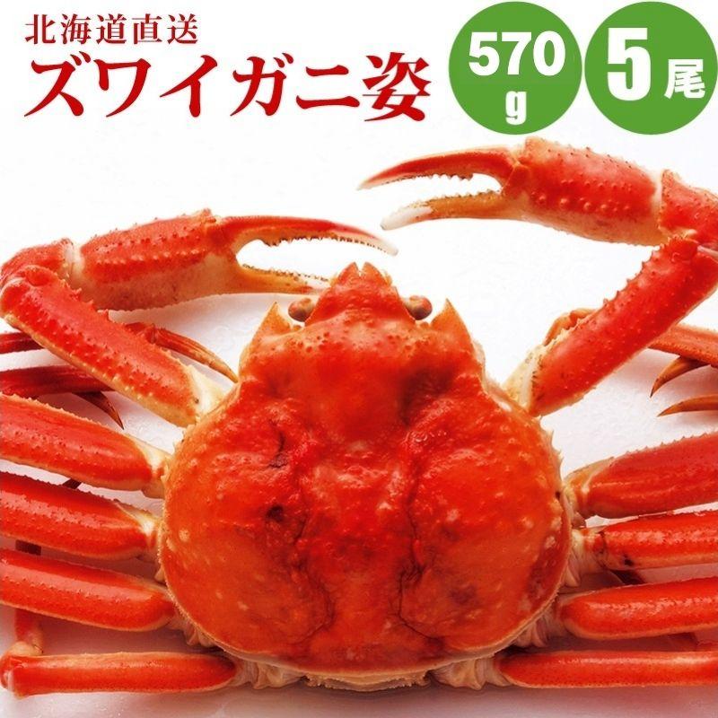 【ギフト】 【かに カニ 蟹】 ズワイガニ姿570g×5尾 送料無料 すっきりした甘みズワイガニ姿 カニの中でも人気のズワイガニ姿 カニ お取り寄せ 食べ物 食品 通販 おうちごはん 母の日