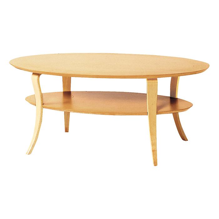 「テーブル」 ナチュラル・ブラウン ローテーブル