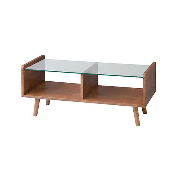 「センターテーブル」 ローテーブル 天然木(アッシュ) 天然木化粧繊維板(アッシュ) ガラス天板 8mm強化ガラス ブラウン 北欧 ナチュラル おしゃれ 【送料無料】