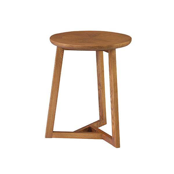 「サイドテーブル」 サブテーブル 天然木(アッシュ) 天然木化粧繊維板(アッシュ) ブラウン 北欧 ナチュラル おしゃれ