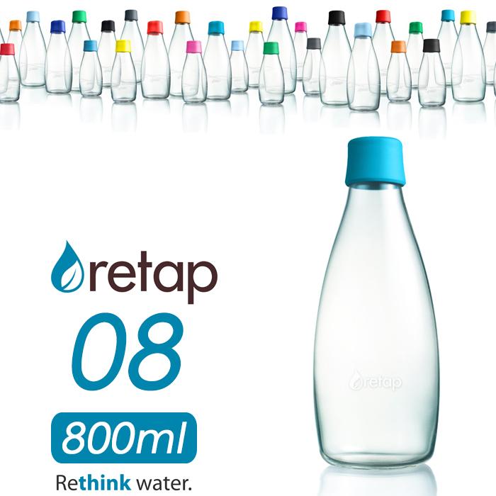 「retap08 (リタップ08) 800ml」 ウォーターボトル 水筒