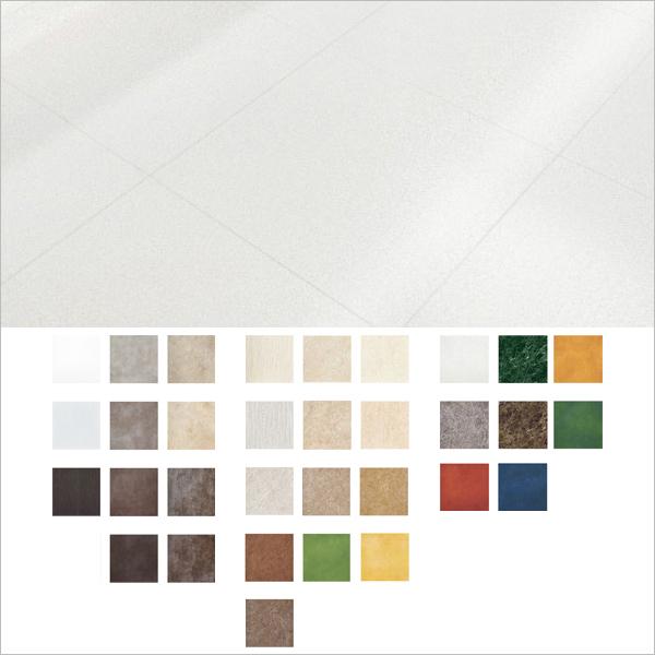 タジマ 複層ビニル床タイル 「マッキレーネ 石目調」 457.2×457.2 【厚3mm】 32色 15枚セット