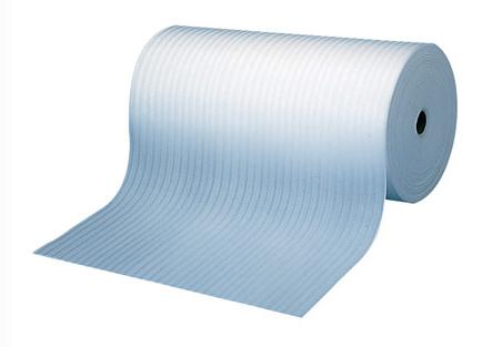 フクビ化学 養生材 床用養生材 「Fマット」 カラー:白【厚み2mm×幅1m×長さ100m巻】 2本入り