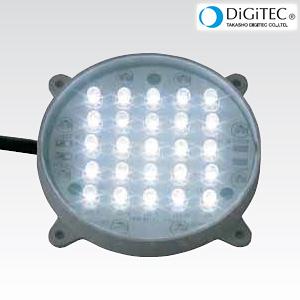 タカショー ガーデンライト 「超高輝度LEDモジュールφ68」 <白色LED> LEDライト/防雨製/庭の照明 【ローボルトライト(12V)】