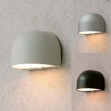 タカショー シンプルLEDライト 「シンプルLED ウォールライト1型」 <LED球5.4W(E-17)> 100Vライト