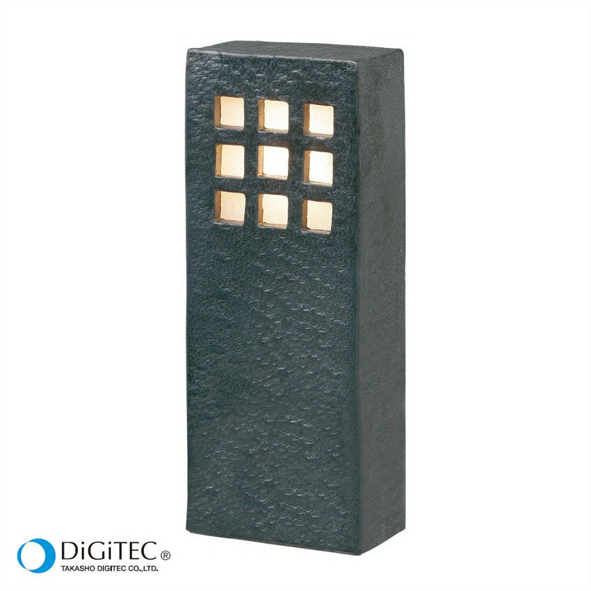 タカショー ガーデンライト 『花頭(かとう) 瓦色』 LED2W : 電球色 LEDライト/和風ライト/防雨製/庭の照明 【ローボルトライト(12V)】