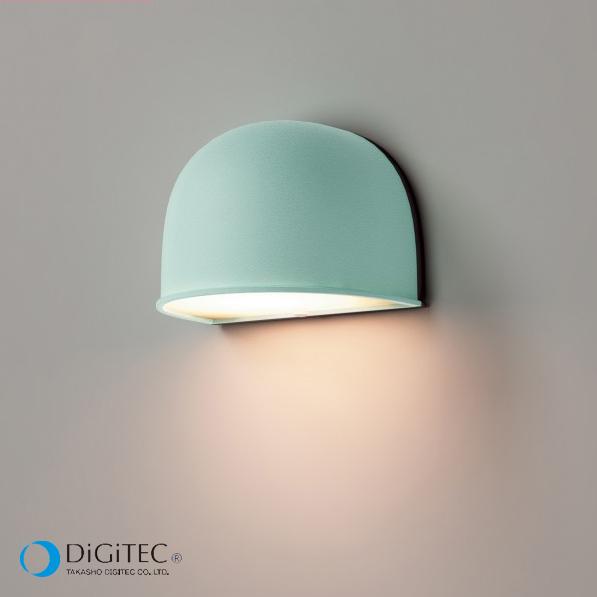 タカショー 表札灯 『エクスレッズ ウォールライト 1型 Colors』 レイクブルー ≪LED4.5W : 電球色≫ LEDライト/ガーデンライト 【ローボルトライト(12V)】