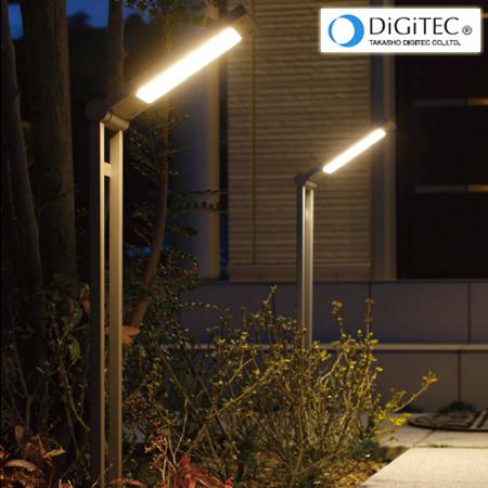 タカショーフラットポールライト「エクスレッズフラットポールライト2型」?LED3W:電球色?エクステリアライト/ガーデンライト【ローボルトライト(12V)】