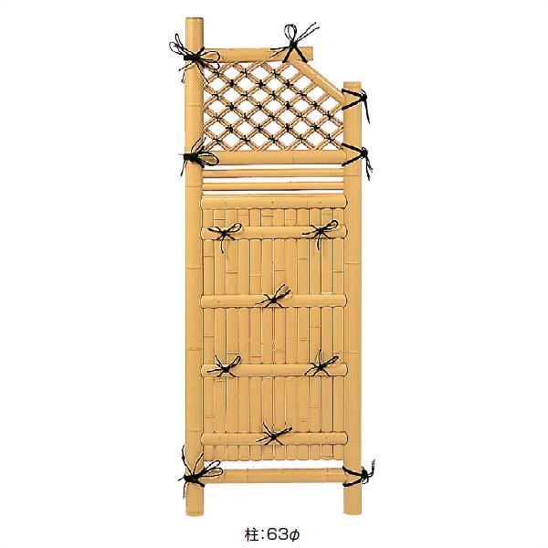 熱販売 [W750mm×H1700mm]:くらしのもり タカショー 「袖垣 合成竹利休型袖垣」 2.5尺-エクステリア・ガーデンファニチャー