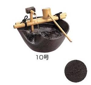 タカショー 和の水鉢「手水鉢 陶器つくばい」せせらぎ 10号店舗用にも最適♪