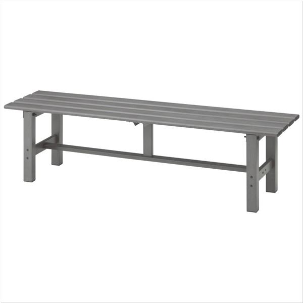 タカショー 「アルミ縁台 150」 【お庭でくつろげる軽くて丈夫なアルミ製の縁台♪】