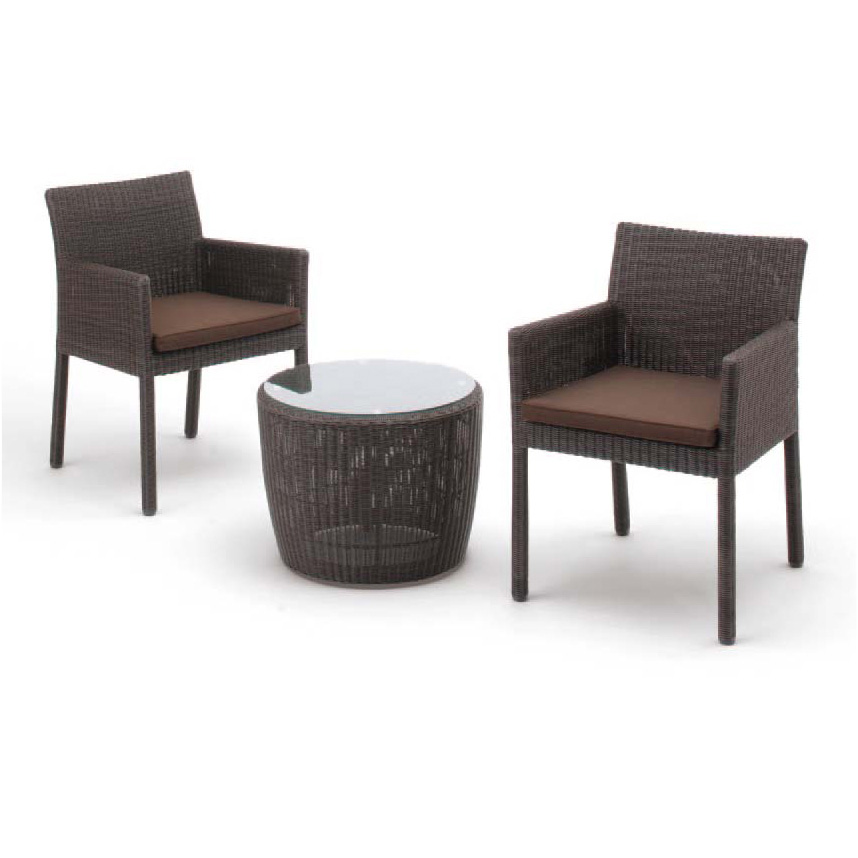Excellent Takasho Garden Table Three Points Set Garden Seat Side Table Set Square Chair Two Table One Chairs High Quality Person Mechanic Rattan Beutiful Home Inspiration Aditmahrainfo